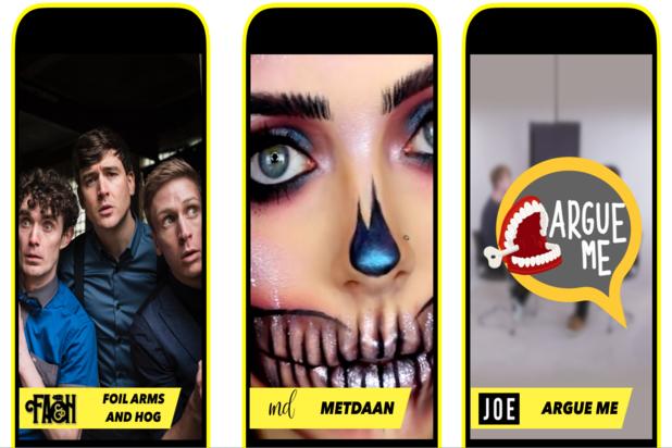 Snapchat Discover Ireland
