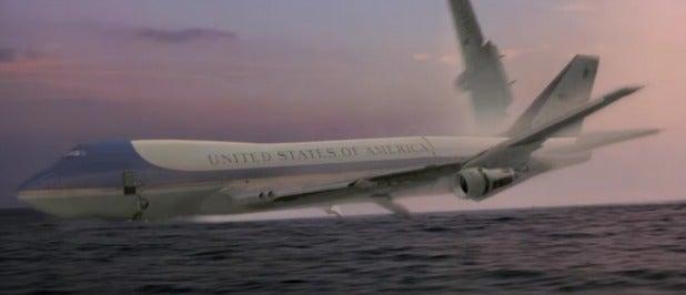 air force one plane crash bad movie cgi