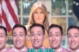 Randy Rainbow Melania Trump Be Best