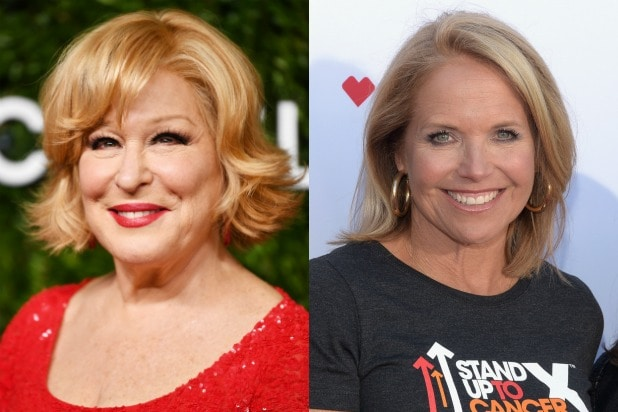 bette midler katie couric