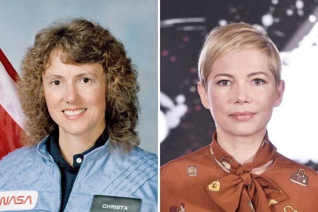 Michelle Williams to Star as Challenger Space Shuttle Crew