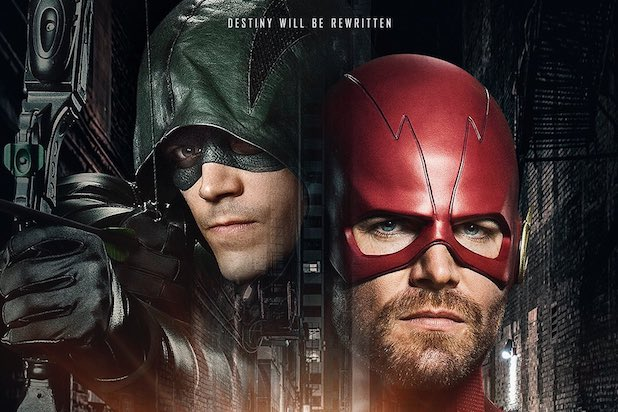 flash arrow crossover grant gustin stephen amell