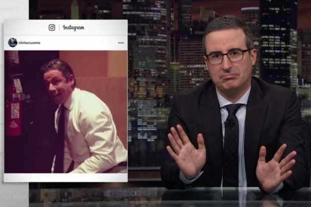 John Oliver Mocks CNN Anchor Chris Cuomo's 'Thirstpit of an Instagram': 'A Little Desperate'
