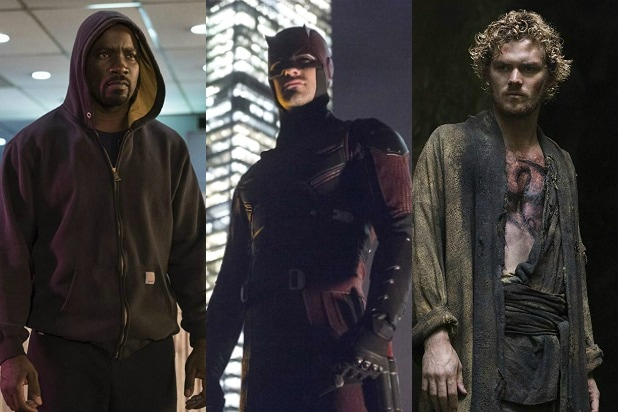 live action marvel tv shows ranked daredevil iron fist luke cage