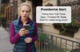 saturday night live presidential alert donald trump snl