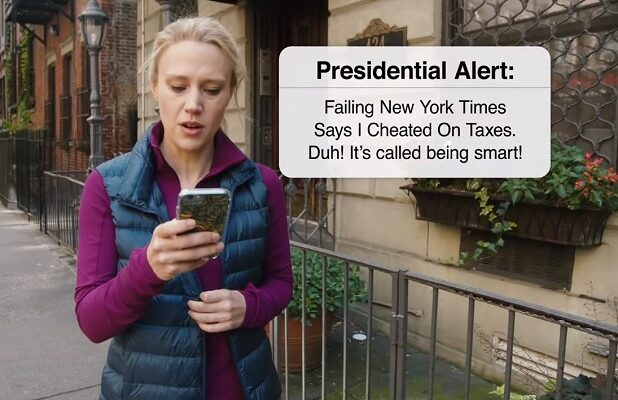 saturday night live presidential alert donald trump snl