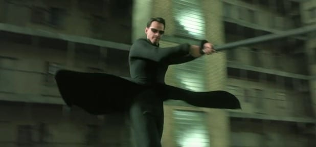 the matrix reloaded bad cgi movies burly brawl