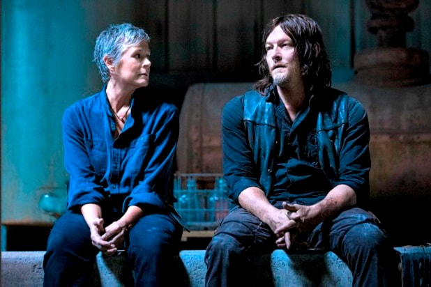 the walking dead carol daryl ezekiel love triangle season 9