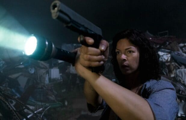 the walking dead jadis and the helicopter will you have an A or a B father gabriel pollyanna mcintosh