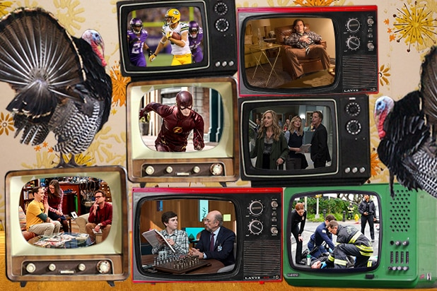 TV shows each network is thankful for
