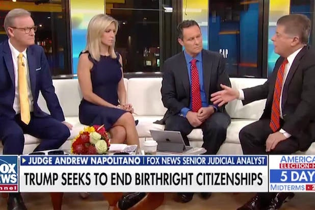 Judge Napolitano Weighs in on Trump's Birthright Citizenship Plans