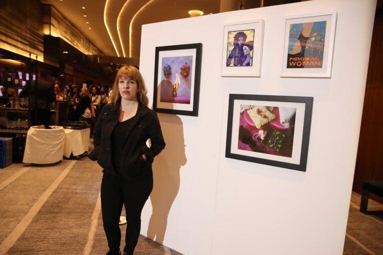 Artist Meghan Quinn at the Power Women Summit
