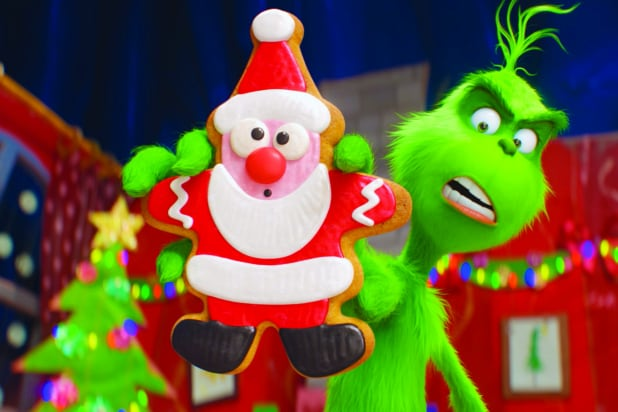 30d1f524 'Dr. Seuss' The Grinch' Film Review: Benedict Cumberbatch Helps Make Third  Time Charming