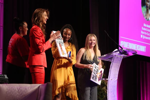 Bria Smith and Jaclyn Corin of March for Our LIves Power Women Summit