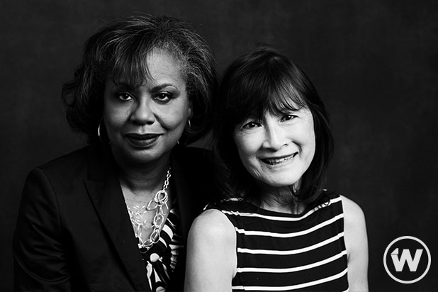 Anita Hill and Frieda Lee Mock, Power Women Summit