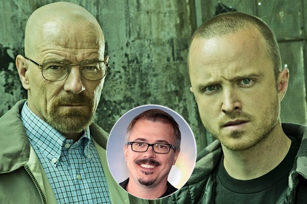 Breaking Bad movie idea jessie pinkman walter white Bryan Cranston Aaron Paul Vince Gilligan