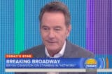Bryan Cranston on 'Today'