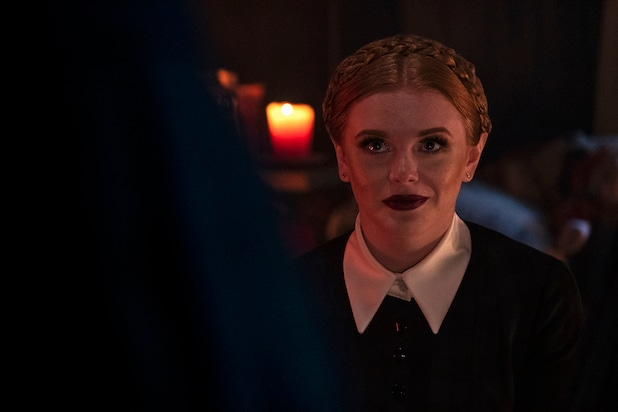 Here S The First Look At Chilling Adventures Of Sabrina