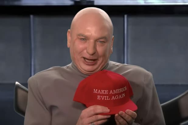 Mike Myers' Dr Evil Is Running for Congress (Video)