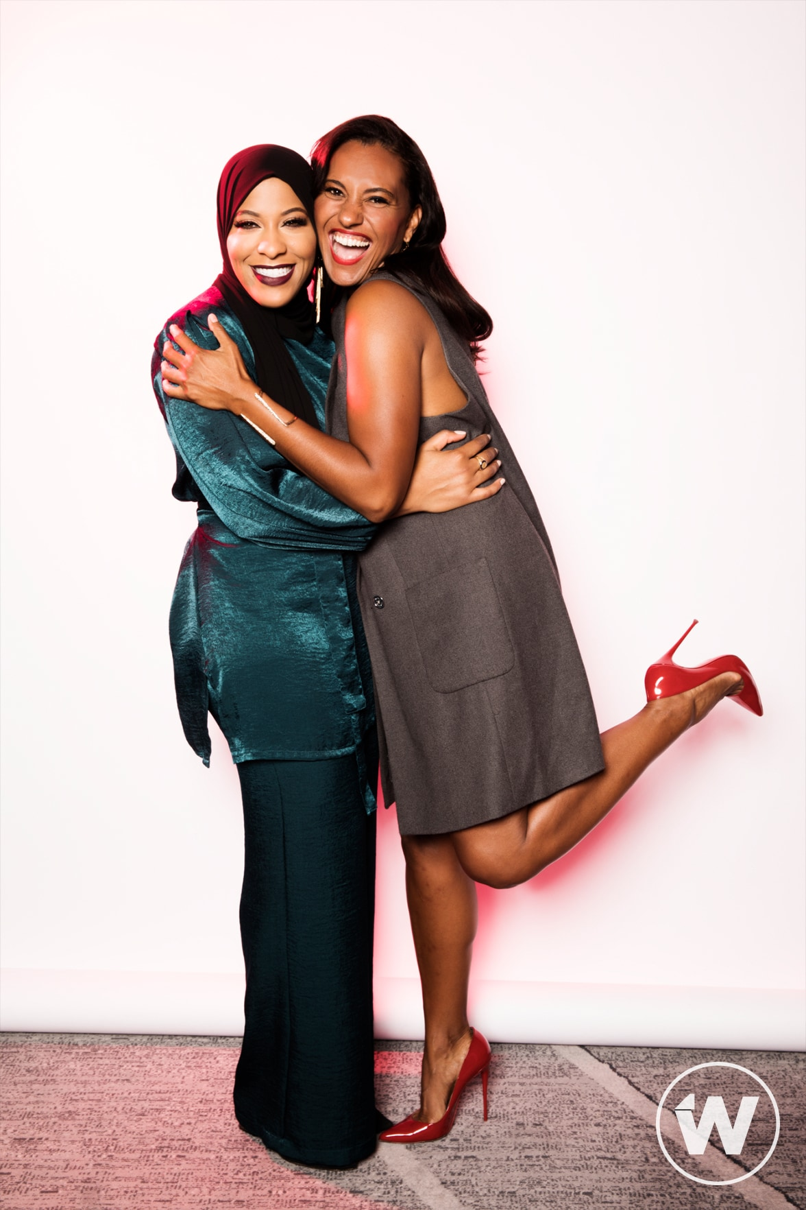 Ibtihaj Muhammad and Christine Simmons, Power Women Summit