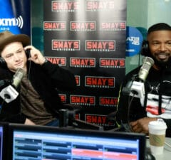 Jamie Foxx and Taron Egerton on 'Sway in the Morning'