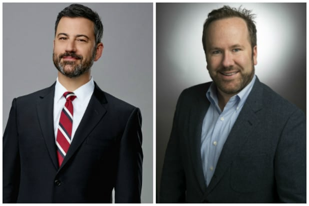 Jimmy Kimmel and Brett Montgomery for Kimmelot