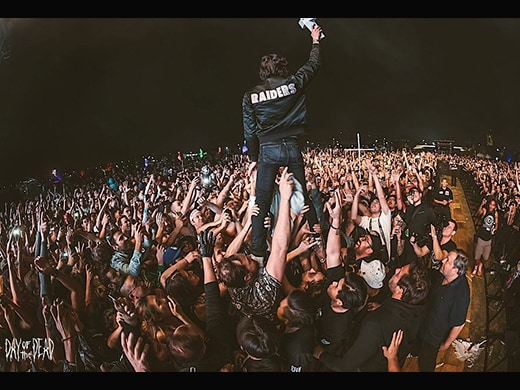 Justice - Day of the Dead 2018 - Crowd Stand