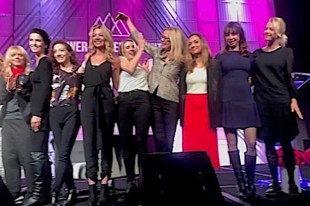 #MeToo survivors honored at Power Women Summit