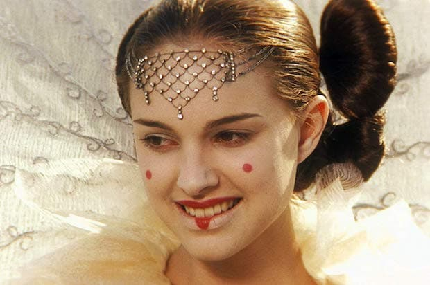 "Natalie Portman in ""Star Wars: Episode I - The Phantom Menace"" (1999)"