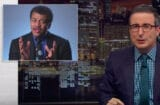 Neil Degrasse Tyson and John Oliver