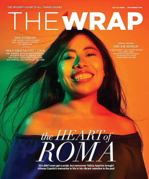 Oscar Wrap cover Race Begins Roma