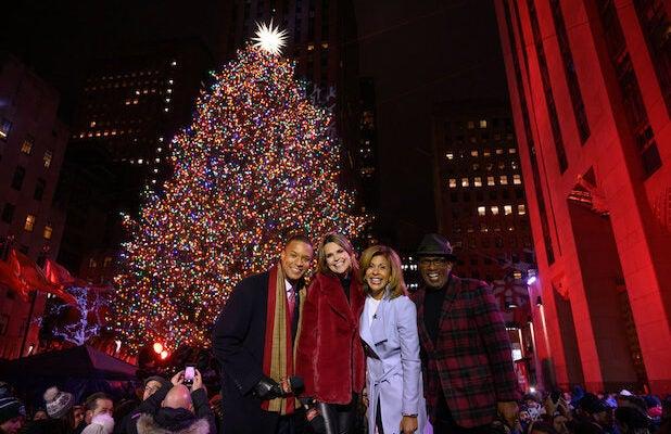 NBC's Expanded Christmas-Tree Lighting