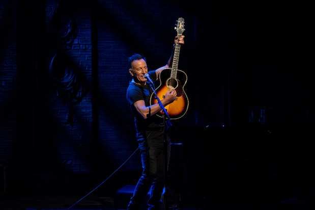 Watch Bruce Springsteen Perform on Broadway in Netflix Special First