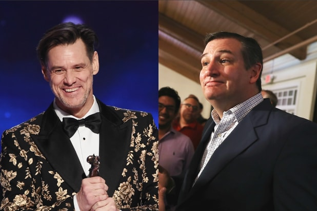 jim carrey ted cruz