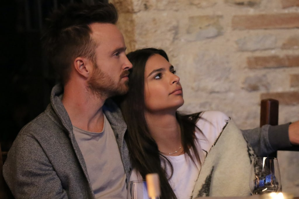 Emily Ratajkowski Aaron Paul Welcome Home