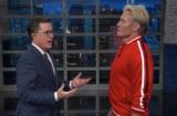 Stephen Colbert Dolph Lundgren Ivan Drago