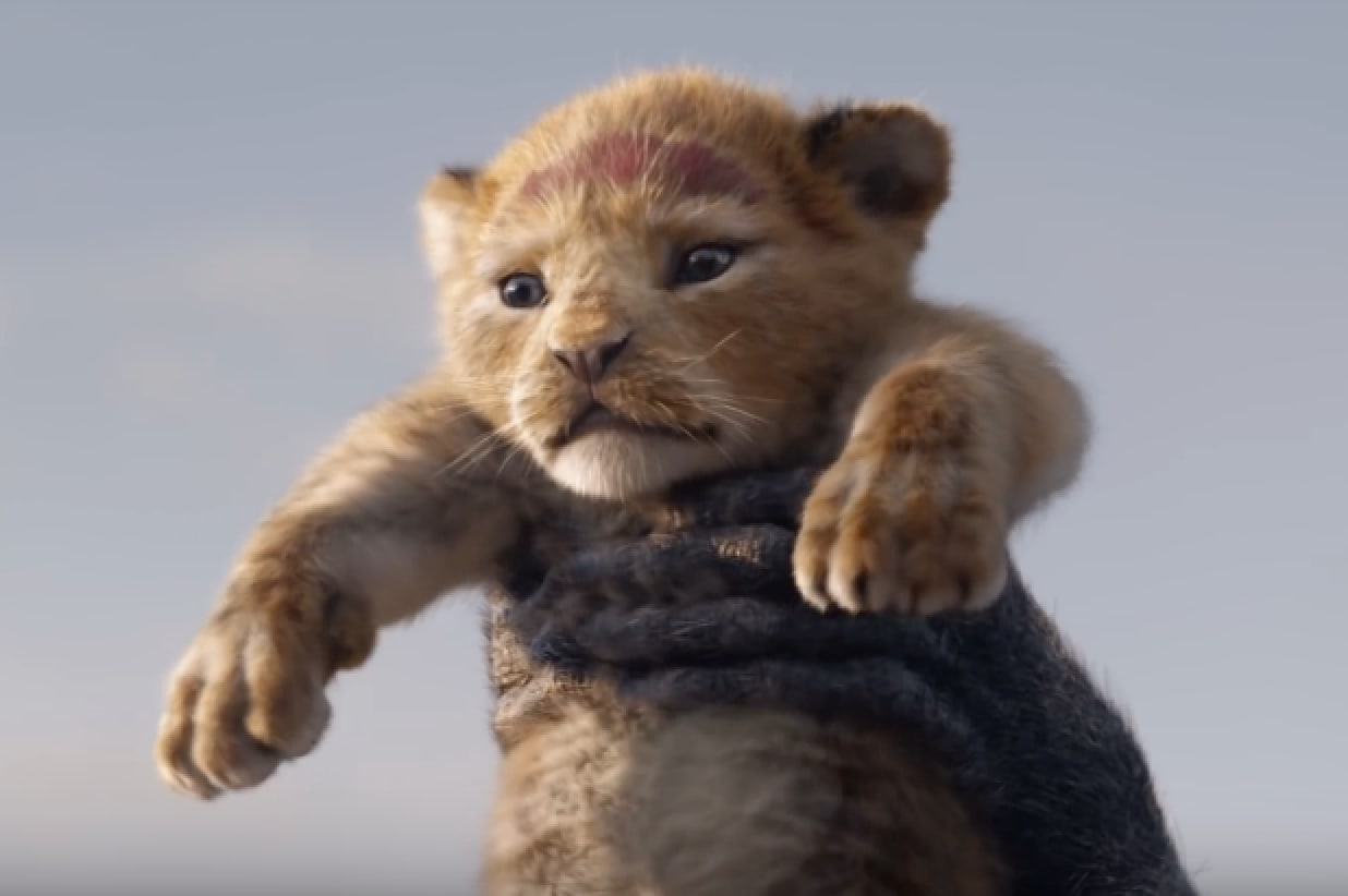 Lion King trailer Simba