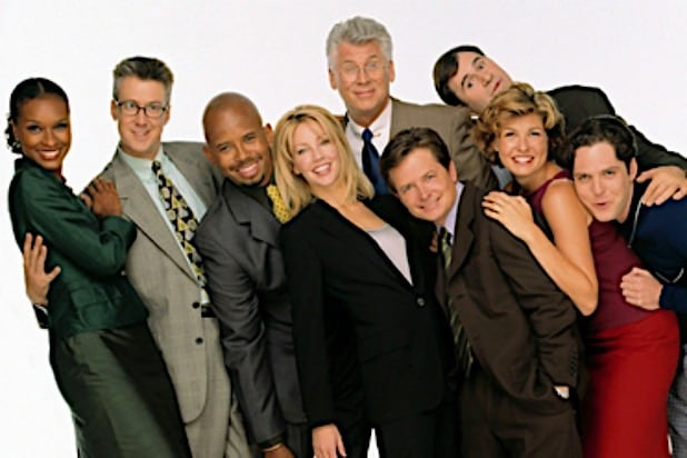 Spin City Michael J Fox Connie Britton Heather Locklear