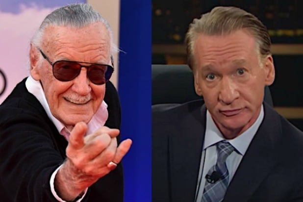 Stan Lee Bill Maher comicbook deadpool