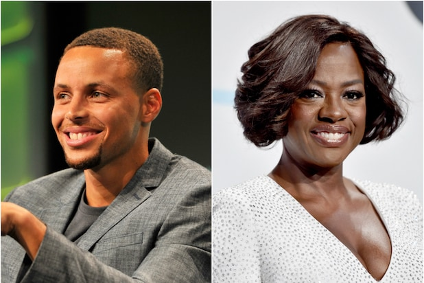 Steph Curry Viola Davis