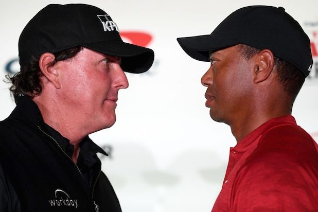 Phil Mickelson Tiger Woods