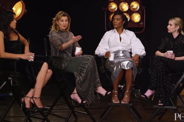 Ellen Pompeo Calls Out Magazine Mid-Interview for Not 'Enough Color' (Video)