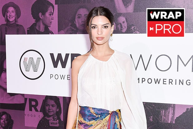 Emily Ratajkowski Wrap Power Women Summit