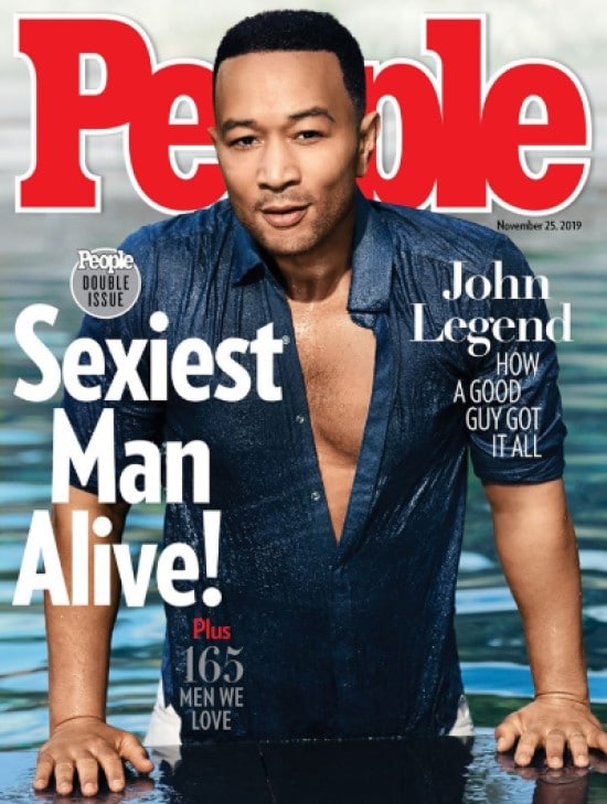 John Legend People Sexiest Man Alive