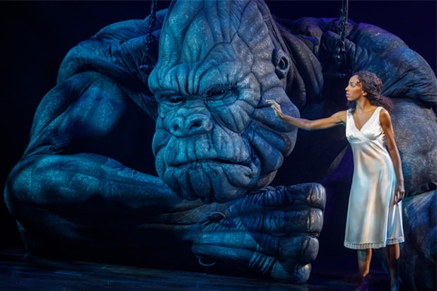 'King Kong' Broadway Review: Giant Puppet Upstages the Mere Humans