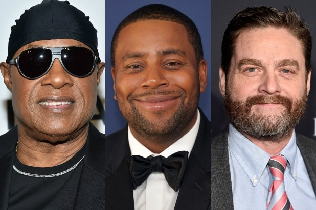 stevie wonder kenan thompson Zach Galifianakis