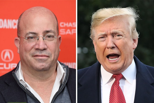 cnn jeff zucker donald trump