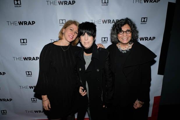 TheWrap's founder Sharon Waxman and Diane Warren
