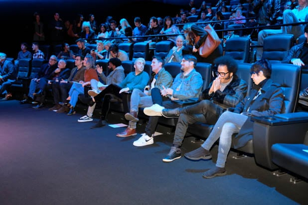 Guests and panelists at TheWrap's Best Original Song Contenders Panel 2018