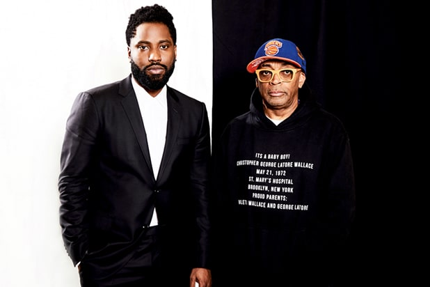 'BlacKkKlansman' director Spike Lee and star John David Washington